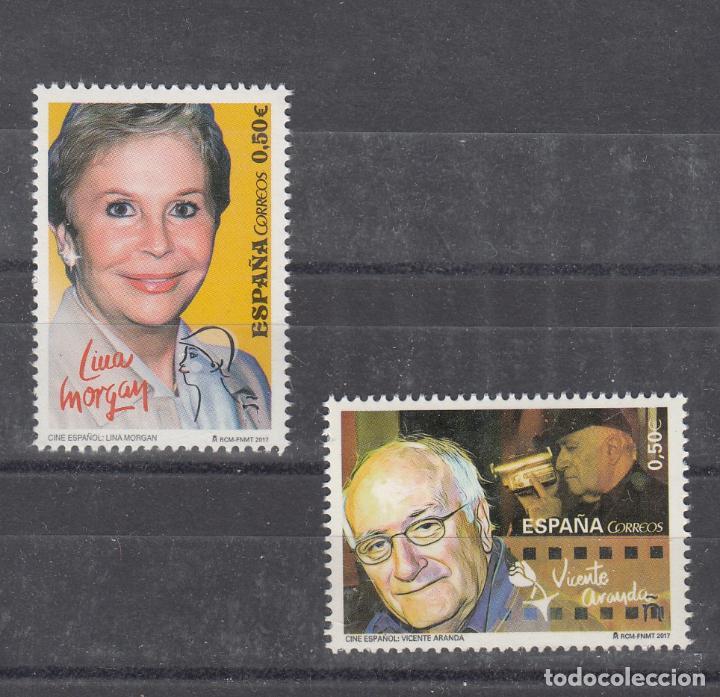 ESPAÑA 5151/2 SIN CHARNELA, CINE ESPAÑOL, LINA MORGAN, VICENTE ARANDA (Sellos - España - Felipe VI)