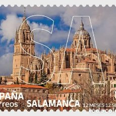 Sellos: SPAIN 2021 - 12 MONTHS 12 STAMPS - SALAMANCA MNH. Lote 278640348