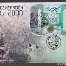 Sellos: 30.- ESPAÑA 2019 SPD GENERACION DEL 2000. Lote 278823528