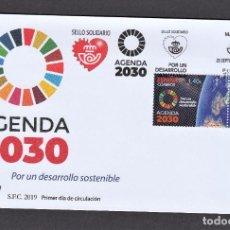 Sellos: 31.- ESPAÑA 2019 SPD AGENDA 2030. Lote 278823923