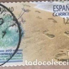 Sellos: EDIFIL 5114 SELLOS USADOS ESPAÑA AÑO 2017 AÑO INTERNACIONAL DEL TURISMO. Lote 279422388