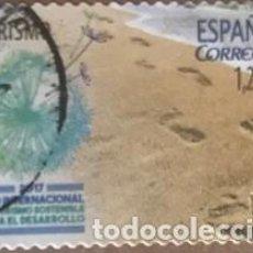 Sellos: EDIFIL 5114 SELLOS USADOS ESPAÑA AÑO 2017 AÑO INTERNACIONAL DEL TURISMO. Lote 279422503