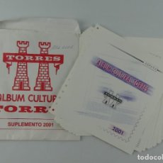 Sellos: ALBUM CULTURAL TORRES 2001. Lote 285168918