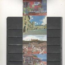 Sellos: ESPAÑA-TARJETAS POSTALES PUEBLOS CON ENCANTO -CALATAYUD-AINSA-LASTRES.URUEÑA (SEGÚN FOTO). Lote 287491283