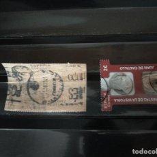 Sellos: 2 SELLOS USADOS ESPAÑA - 2021 - VALOR FACIAL 2 EUROS Y 2,50 EUROS. Lote 287556303