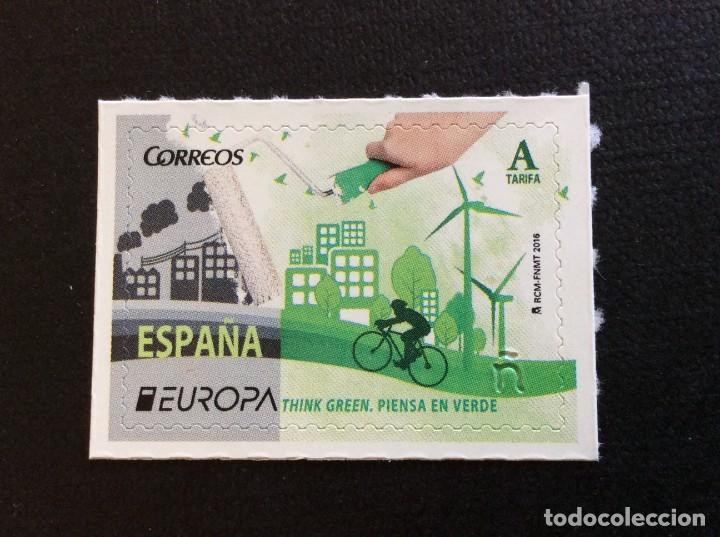 ESPAÑA Nº EDIFIL 5055*** AÑO 2016. EUROPA. PIENSA EN VERDE (Sellos - España - Felipe VI)