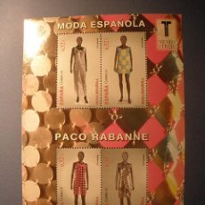 Sellos: ESPAÑA 2013 - MODA ESPAÑOLA - PACO REBANNE - EDIFIL4813-4816 - NUEVOS.. Lote 288977893