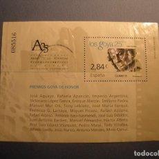 Sellos: ESPAÑA 2011 - EL CINE - HB, LOS GOYA 25 AÑOS - EDIFIL 4650 - USADO.. Lote 288978868