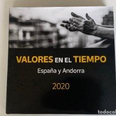 Sellos: SELLOS ESPAÑA Y ANDORRA 2020 - VALORES EN EL TIEMPO. Lote 289310733