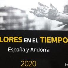 Sellos: 2020 LIBRO DE SELLOS ESPAÑA Y ANDORRA SIN SELLOS NUEVO CON FILOESTUCHES OFERTA. Lote 290994388