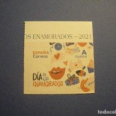 Sellos: ESPAÑA 2021 - DÍA DE LOS ENAMORADOS - EDIFIL 5456 - NUEVO.. Lote 295774328