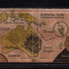 Sellos: ESPAÑA 5183/84** - AÑO 2017 - DESCUBRIDORES DE OCEANIA. Lote 296718828