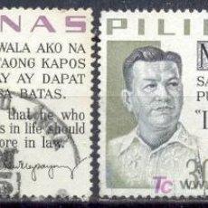 Stamps - Filipinas 1963. RAMON MAGSAYSAY - 7057333