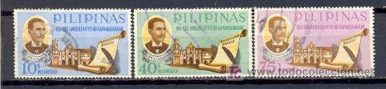 FILIPINAS 1968. CENTENARIO DE LA CONSTITUCIÓN DE FILIPINAS F.G. CALDERÓN (Sellos - Extranjero - Asia - Filipinas)