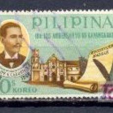 Sellos: FILIPINAS 1968. CENTENARIO DE LA CONSTITUCIÓN DE FILIPINAS F.G. CALDERÓN. Lote 7069606