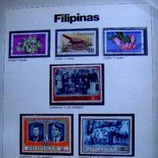 Stamps - 8 sellos usados de Filipinas - 30522139