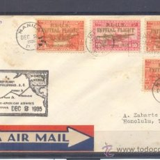 Sellos: 1935.- MANILA A HONOLULU. Lote 35226118