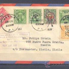 Sellos: 1933.- MANILA A ILOILO. Lote 35226727