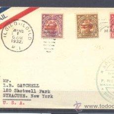 Sellos: 1932.- ILOILO A NEW YORK. Lote 35227251