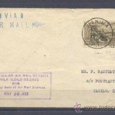 Sellos: 1933.MANILA A ILOILO. Lote 35227574