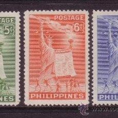 Sellos: FILIPINAS 395/97* - AÑO 1952 - DERECHOS HUMANOS. Lote 38014411