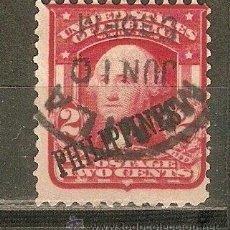 Sellos: FILIPINAS ADMINISTRACION AMERICANA YVERT N. 191 USADO. Lote 39329984