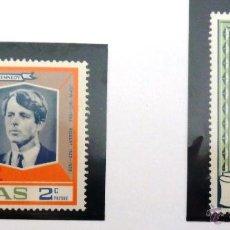 Sellos: SELLOS FILIPINAS 1968. KENNEDY. NUEVOS.. Lote 47763605