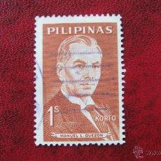 Stamps - filipinas 1962, manuel l. quezon, yvert 537 - 48431835