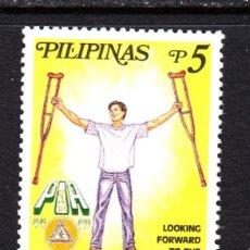 Sellos: FILIPINAS 2499** - AÑO 1999 - 50º ANIVERSARIO DE LA ASOCIACIÓN ORTOPÉDICA DE FILIPINAS. Lote 49869946