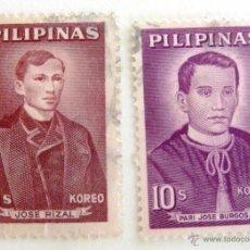 Sellos: SELLOS FILIPINAS 1962-1963. USADOS.. Lote 50945529