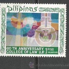 Sellos: FILIPINAS CORREO AEREO YVERT NUM. 76A * SERIE COMPLETA CON FIJASELLOS . Lote 52011848