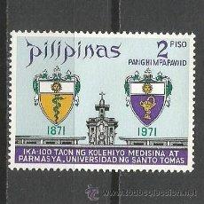 Sellos: FILIPINAS CORREO AEREO YVERT NUM. 76C * SERIE COMPLETA CON FIJASELLOS . Lote 52011871