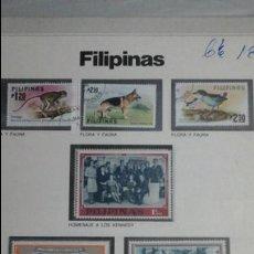 Sellos: LOTE SELLOS ORIGINALES FILIPINAS. Lote 53544905