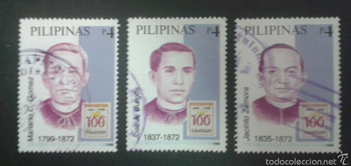 SELLOS DE FILIPINAS. YVERT 2893/5. SERIE COMPLETA USADA. (Sellos - Extranjero - Asia - Filipinas)