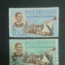 Sellos: SELLOS DE FILIPINAS. YVERT 691/3. SERIE COMPLETA USADA. . Lote 54380575