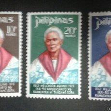 Sellos: SELLOS FILIPINAS. YVERT 759/61. SERIE COMPLETA NUEVA SIN CHARNELA.. Lote 54480382
