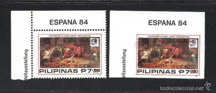 FILIPINAS 1399/400** - AÑO 1984 - PINTURA - SEMANA DEL MUSEO (Sellos - Extranjero - Asia - Filipinas)