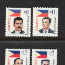Sellos: FILIPINAS 2525/28** - AÑO 1999 - PERSONAJES. Lote 56541570