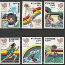 Sellos: FILIPINAS 1968. (16-295 ) SERIE. S/D , JJOO DE SEUL '88. **.MNH. Lote 56877563
