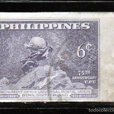 Sellos: FILIPINAS 1949 75º ANIVERSARIO U.P.U. S/D. 6Ç *MNH. Lote 58013132