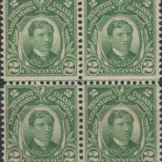 Sellos: LOTE N-SELLOS FILIPINAS AÑ 1906-14 NUEVOS SIN CHARNELA. Lote 113485047