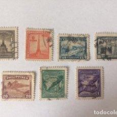 Sellos: FILIPINAS 1947 SERIE COMPLETA MOTIVOS LOCALES. Lote 62419988
