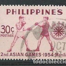Sellos: FILIPINAS, 1954, JUEGOS ASIÁTICOS. Lote 69575770