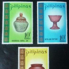 Sellos: TRES SELLOS DE FILIPINAS. Lote 84265600