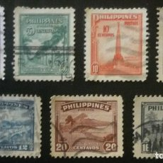 Sellos: SIETE SELLOS DE FILIPINAS. Lote 84263564