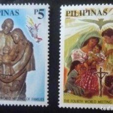 Sellos: DOS SELLOS DE FILIPINAS. Lote 84388388