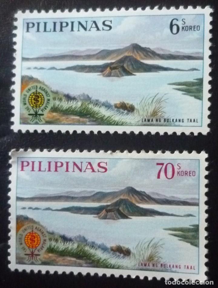 DOS SELLOS DE FILIPINAS (Sellos - Extranjero - Asia - Filipinas)