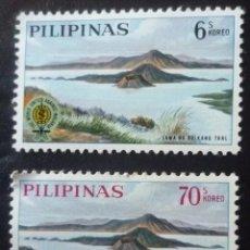 Sellos: DOS SELLOS DE FILIPINAS. Lote 84388412