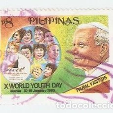 Sellos: ELLO USADO FILIPINAS. YVERT Nº 2137. VISITA PAPAL. REF. 2-FILIP2137. Lote 93767755
