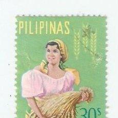 Sellos: SELLO USADO AÉREO FILIPINAS. YVERT Nº 64AE. MUJER AGRICULTURA. REF. 2-FILIP64AE. Lote 93768015